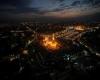 تصاویر هوایی زیبا از کربلای معلی در اربعین حسینی