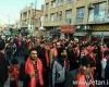 شیرازیها به خیابان ریختند/ راهپیمایی فحش و لعن در هفته وحدت