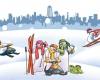 پیام رسان جشنواره زمستانی در همدان به راه افتاد