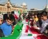برگزاری راهپیمایی 22 بهمن در 70 نقطه استان همدان