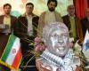 رونمایی از تندیس شهید محمدرضا قلیوند در دانشگاه آزاد همدان