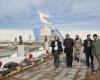 بازدید هنرمندان برجسته خوش نویسی کشور از باغ موزه دفاع مقدس همدان