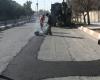 لکه گیری چهار هزار و305 مترمربع  راه های استان همدان در ایام نوروز