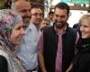 خانم وزیر استرالیایی در امام زاده محسن+تصاویر
