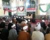 تجمع  طلاب ،اساتید وروحانیون همدان در حمایت از مردم مظلوم یمن