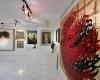 برپایی نمایشگاه هنرهای تجسمی با موضوع مقام معلم در نهاوند