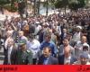 نمازگزاران نهاوندی جنایات آل سعود در یمن را محکوم کردند+ تصاویر,سایت گرو,راهپیمایی نهاوند