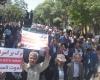 حمایت ورزشکاران و مردم همدان از مردم مظلوم و بی دفاع یمن