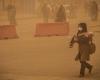ریزگردها آسمان همدان را ترک می کنند