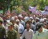مردم اسدآباد شعار «نصر من الله و فتح قریب» سر دادند