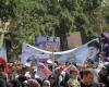 آغاز راهپیمایی روز جهانی قدس درهمدان با شعار مرگ براسرائیل