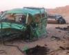 تصادف خودروی حامل ملی پوشان رزمی کار در جاده همدان - تهران
