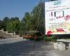 مراحل آماده سازی محل تدفین شهدای گمنام در بوستان مردم+تصاویر