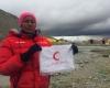 بانوی امدادگر همدانی قله 8 هزار متری در کشور چین را فتح کرد