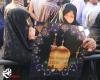 دلهای بی قرار در زیارت پرچم حرم شمس الشموس