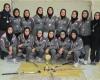 تیم بانوان هاکی استان در مسابقات لیگ برتر کشور