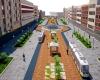 پیاده راه سازی خیابان اکباتان همدان ۳۵ درصد پیشرفت فیزیکی دارد