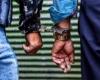 دستگيري باند سارقان تجهيزات دکل هاي مخابراتي، در شهرستان بهار