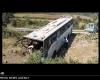 سانحه برای اتوبوس حامل 30 ناشر