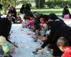 مسابقه نقاشی کودک به مناسبت هفته دفاع مقدس در کبودراهنگ