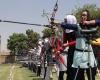 شرکت هشت بانوی همدانی درمسابقات لیگ تیراندازی