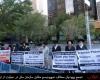 تجمع یهودیان در حمایت از ایران + تصاویر