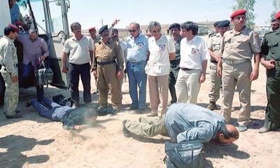 گفتگوی نافع با آزاده دفاع مقدس به بهانه روز تجلیل از اسرا و مفقودین: